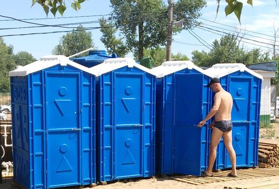 Аренда и продажа туалетных кабин, откачка биотуалетов
