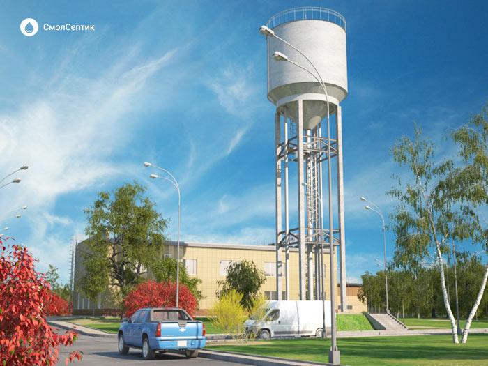 Промывка водонапорных башен