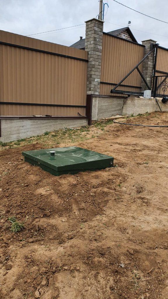 Монтаж септика Топас 8 на загородном участке — Смоленский район